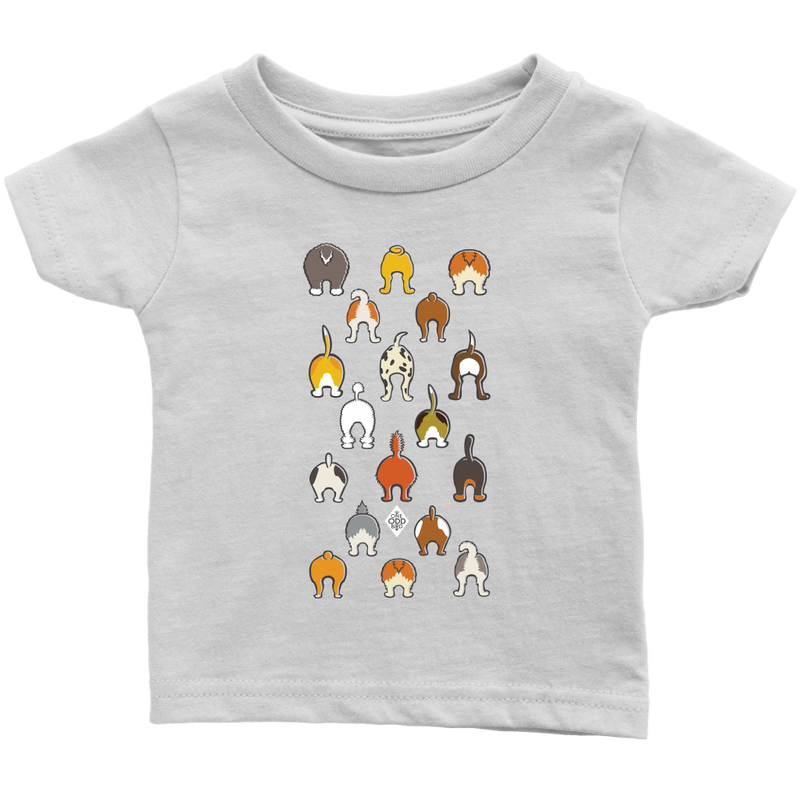 Happy Tails Short Sleeve Baby T-Shirt - 6m-24m