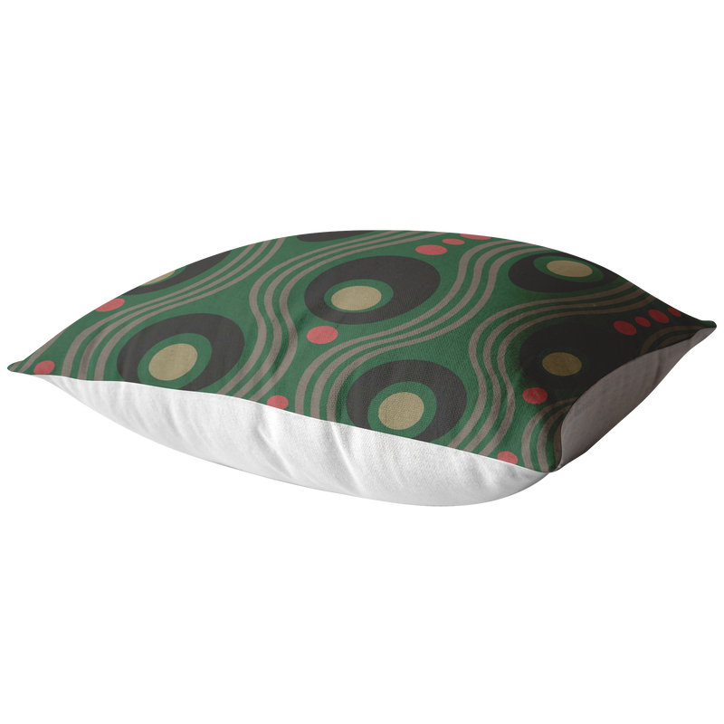 Wavo Pillow - Grassy Green