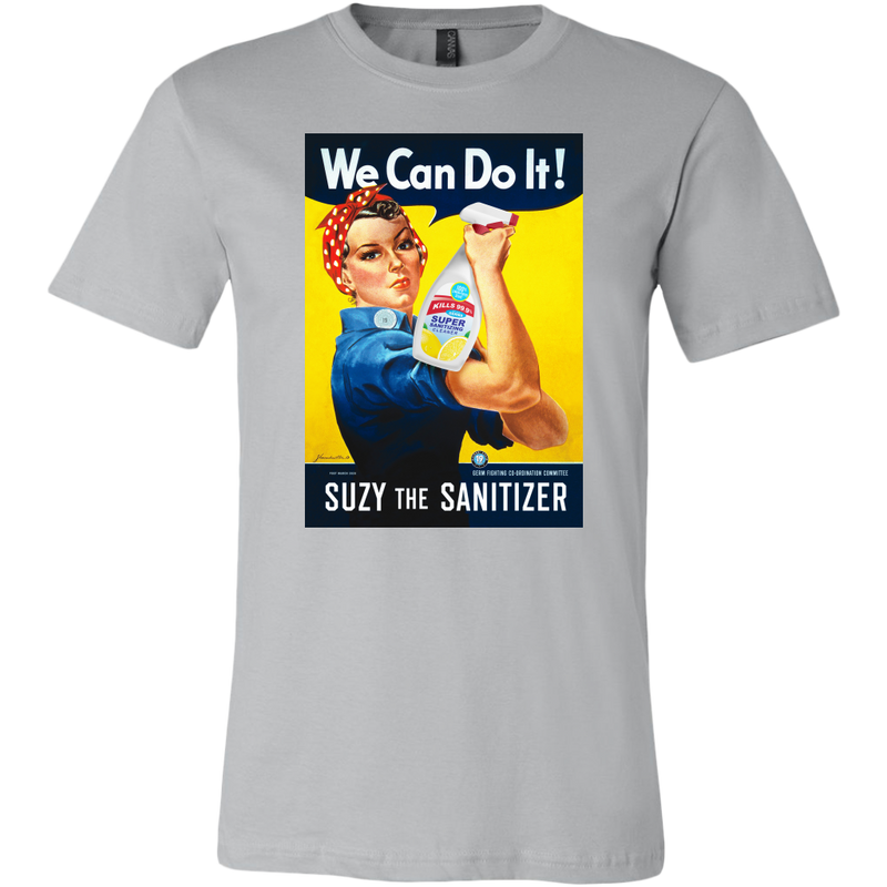 Suzy the Sanitizer Unisex Tee - FREE Shipping