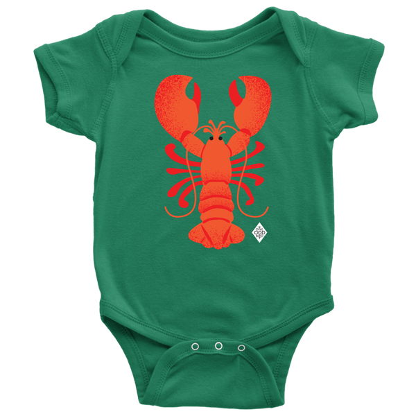 Rock Lobster Baby Short Sleeve Bodysuit - NB-24m