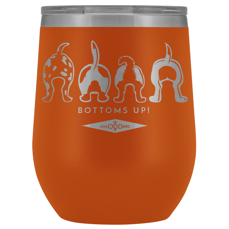 Bottoms Up! 12oz. Thermal Wine Tumbler