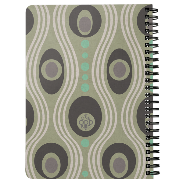 Wavo Lined Spiral Notebook - Minty Fresh