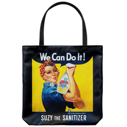 Suzy the Sanitizer Tote Bag - FREE Shipping