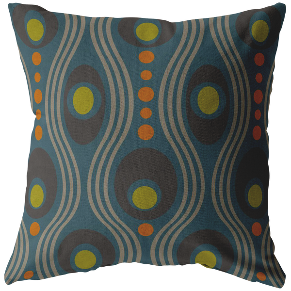 Wavo Pillow - Steely Blue