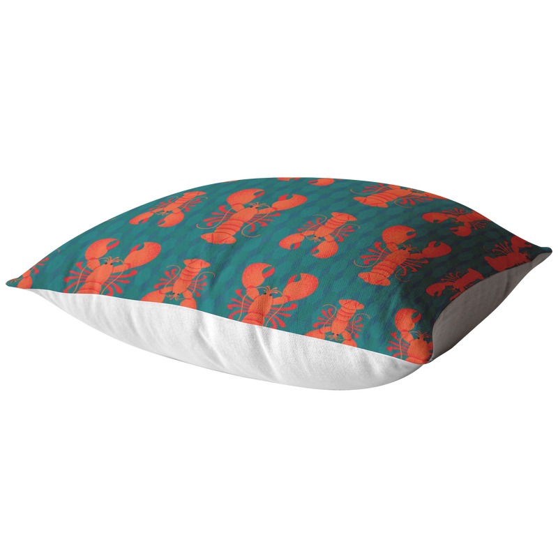 Rock Lobster Pillow - Multi Lobster