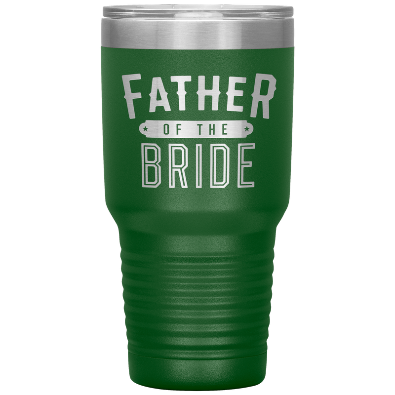 Father of the Bride Thermal Tumbler 30 oz