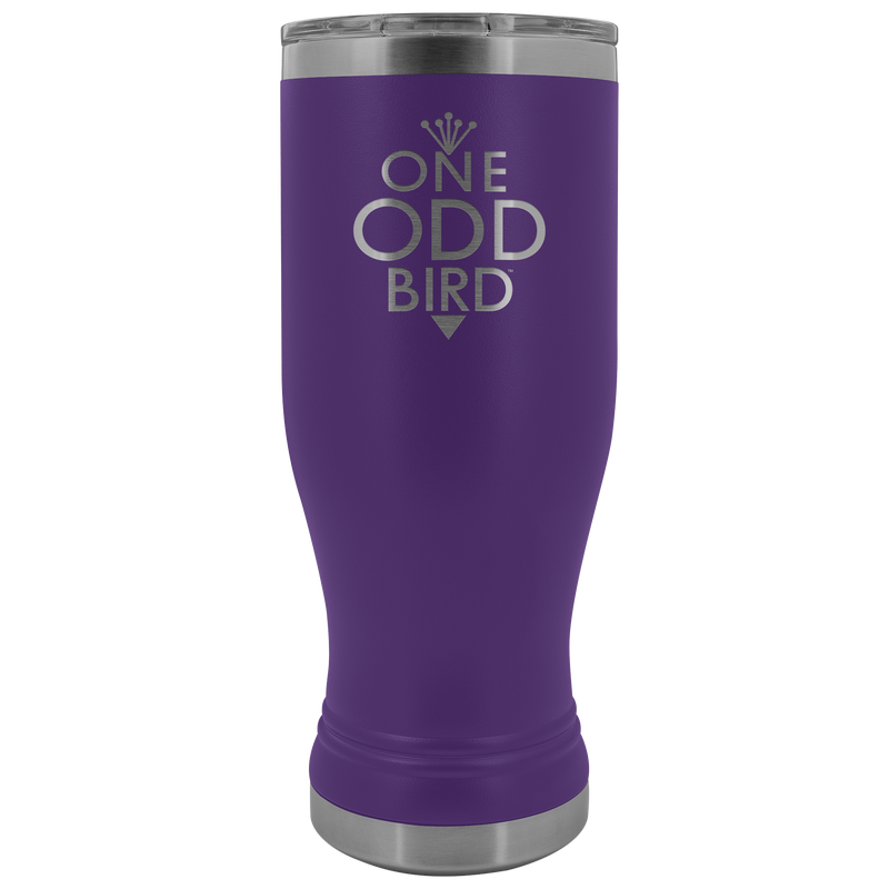 One Odd Bird 20oz. Fluted Thermal Tumbler