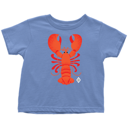 Rock Lobster Toddler Cotton T-Shirt - 2T-5/6