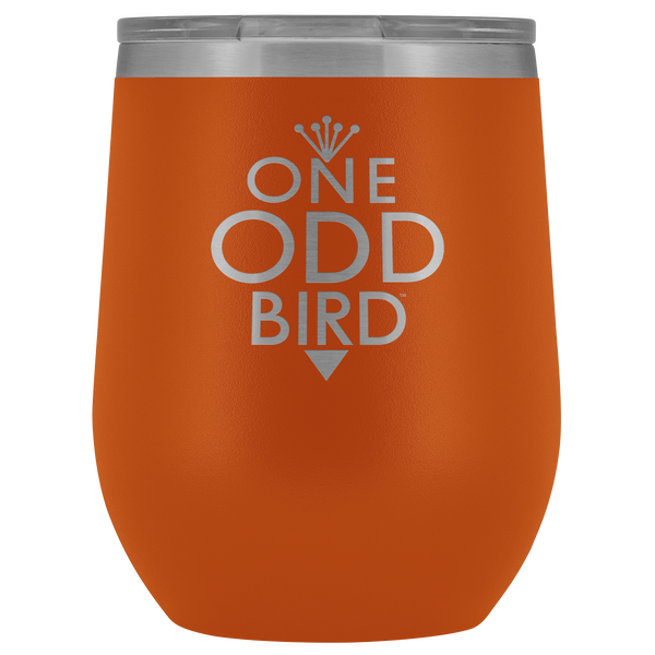 One Odd Bird 12oz. Thermal Wine Tumbler
