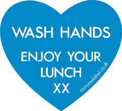 wash your hands labels