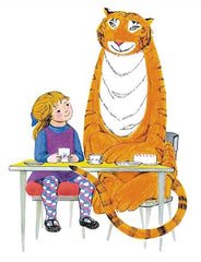 the tiger that came for tea