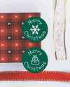 Christmas personalised spot stickers
