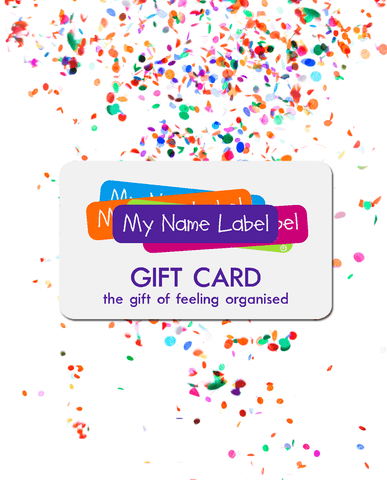 Gift Card My Name Label Uk