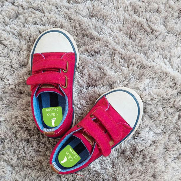 shoe labels for kids