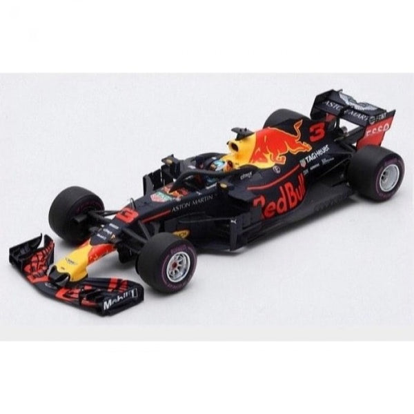 Spark 1/18 Red Bull Racing RB14 #3 Dan Ricciardo Winner Monaco GP 2018