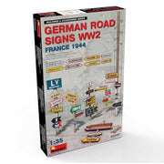 Miniart 35600 1/35 German Road Signs WW2 (France 1944)