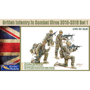 Gecko Models 35GM0015 1/35 British Infantry in Combat Circa 2010-16 Set 1 Plastic Model Kit