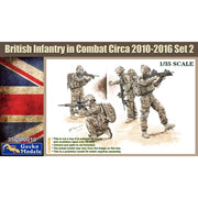 Gecko Models 35GM0016 1/35 British Infantry in Combat Circa 2010-16 Set 2 Plastic Model Kit