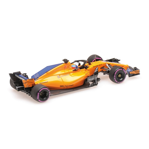Minichamps 1/43 McLaren Renault Fernando Alonso 300th Formula One GP Canadian GP 2018