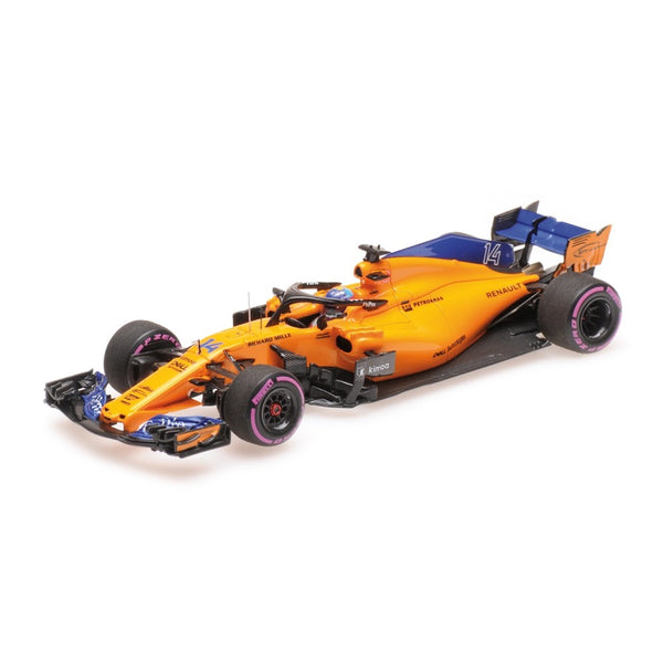 Minichamps 1/43 McLaren Renault Fernando Alonso 300th Formula One GP Canadian GP 2018 537184714