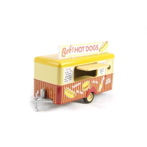 Oxford 1/76 Bobs Hot Dogs Mobile Trailer