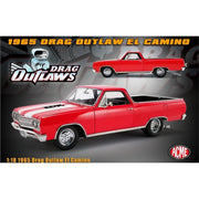 ACME 1805411 1/18 Red 1965 Drag Outlaw El Camino