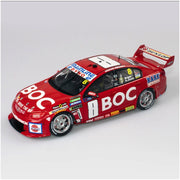 Authentic Collectables ACD18H16B 1/18 Team BOC Holden VF Commodore 2016 Sandown 500 Retro Livery Jason Bright/Andrew Jones