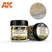 AK Interactive AK8033 Light & Dry Crackle Effects - 100ml (Acrylic)