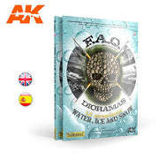 AK Interactive AK8050 FAQ Dioramas 1.2 Extension Water Ice and Snow (English)