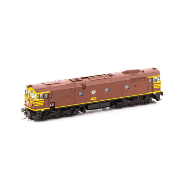 Auscision HO 442-1S 44201 Indian Red Duck Edd with DCC Sound