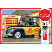AMT 1197 1/25 Plymouth Coupe CocaCola Plastic Model Kit