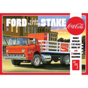AMT 1147 1/25 Ford C600 StakeBed with Coke Plastic Model Kit