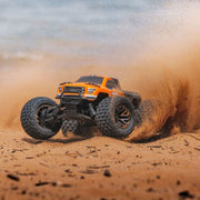 ARRMA ARA102720T1 Granite 4x4 3S BLX 1/10 Monster Truck (Orange and Black)