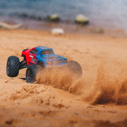 ARRMA ARA102720T2 Granite 4x4 3S BLX 1/10 Monster Truck (Red and Blue)