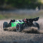 ARRMA ARA102694I Typhon 4WD Mega 1/8 Scale Electric RC Buggy (Green)