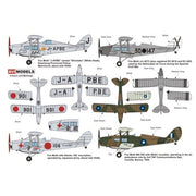"AVI Models 1//72 Model Kit 72010 de Havilland DH-83 Fox Moth /""Foreign Service/"""