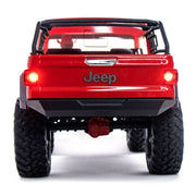 Axial AXI03006T2 SCX10 III Jeep JT Gladiator 1/10 Rock Crawler (Red)