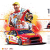 Authentic Collectables ACP021 17 for 17 The Most Championship Race Wins in DJR/DJRTP History Print