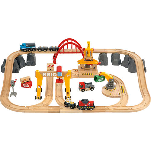 BRIO Cargo Railway Deluxe Set 54pc