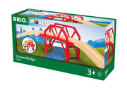 BRIO Curved Bridge 4pc