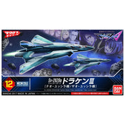 Bandai 10508 Mecha Collection Macross SV-262 Draken III Fighter Mode Theo Jussila/Xao Jussila