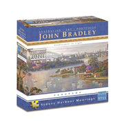 Blue Opal 01990 Bradley Sydney Harbour Moorings 500pc*