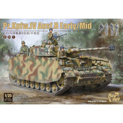 Border BT-005 1/35 Pz.Kpfw.IV Ausf. H Early/Mid.F2 and G Plastic Model Kit