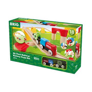 BRIO My First Railway Battery Operated Train Set 25pc B33710 7312350337105