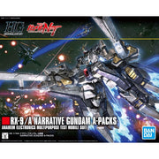 Bandai HGUC 1/144 Narrative Gundam A-Packs | 5055365