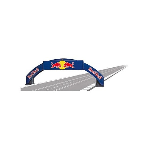 Carrera Evolution/Digital 132 Red Bull Decorated Bridge 4 Lane