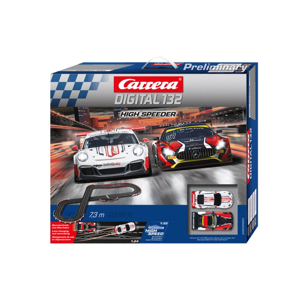 Carrera 132 Digital High Speeder Slot Car Set