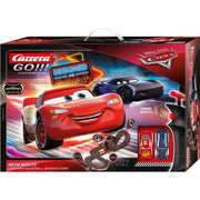 Carrera 62477 Go!!! Disney-Pixar Cars Neon Lights Slot Car Set