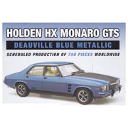 Classic Carlectables 18704 1/18 Holden HX Monaro GTS Deauville Blue Metallic