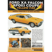 Classic Carlectables 18703 1/18 Ford XA Falcon RPO83 Yellow Fire Coupe